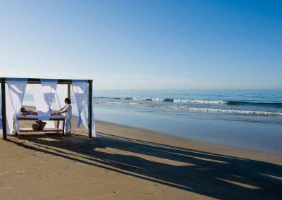 retraite yoga maroc - stage yoga taghazout - massage plage 2