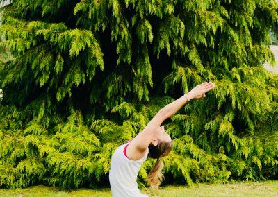 Stephanie billard - Yogaline- hanumasana