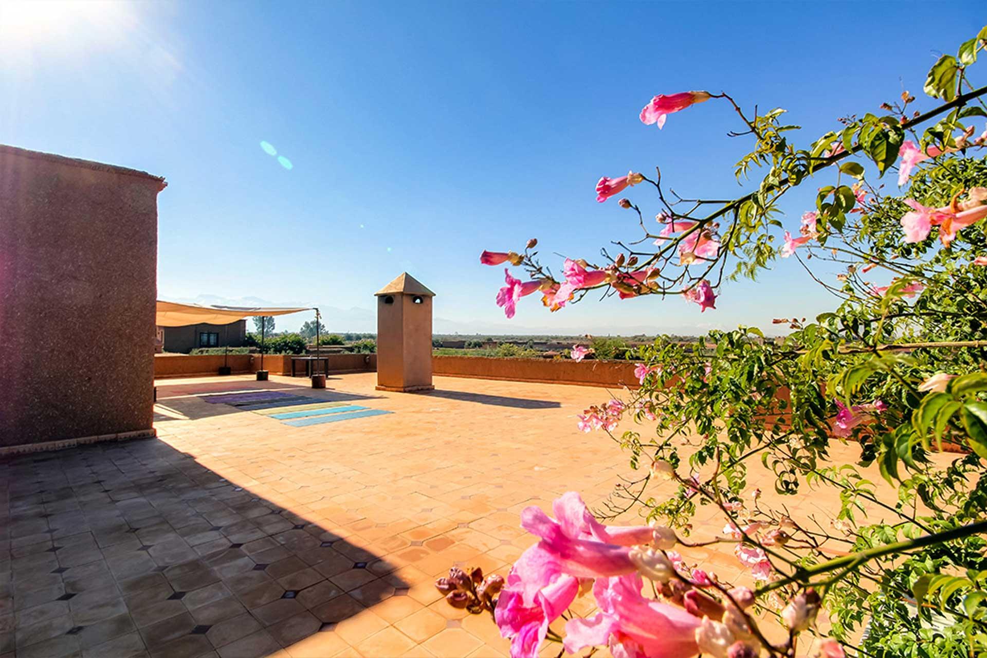 stage yoga et méditation intensif à marrakech au Maroc