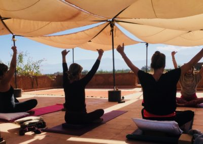 Stage-Yoga-Retraite-Marrakech- Quaryati- Terrasse