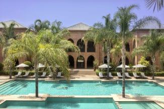retraite Yoga Palais Aziza Marrakech