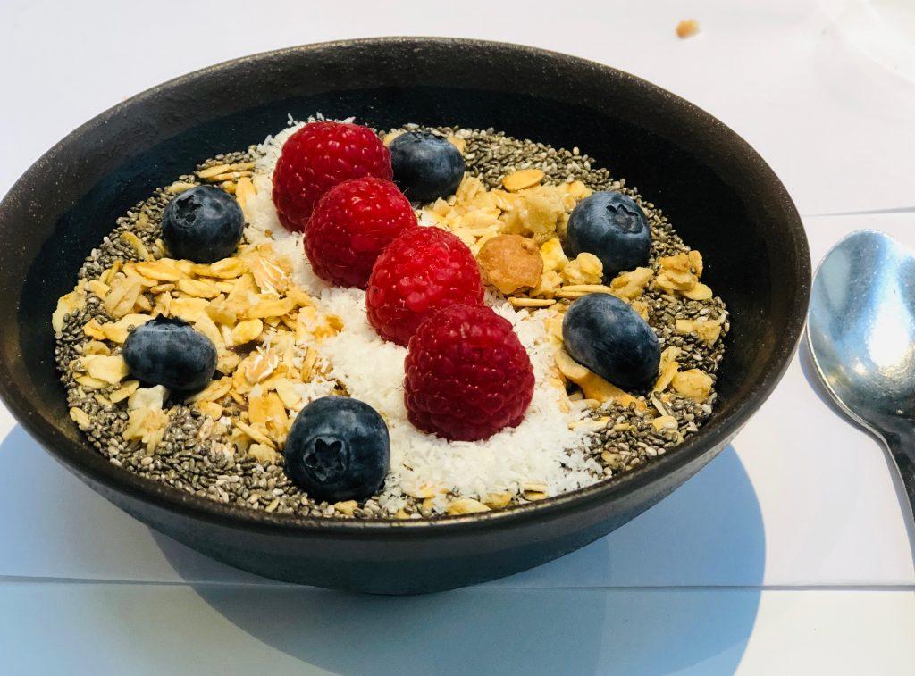 recette Acaï bowl healthy bio