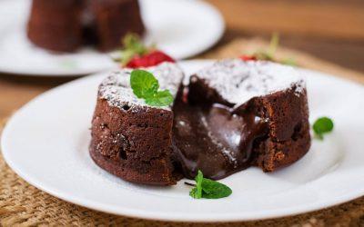 Moelleux au chocolat light, sans gluten et sans lactose