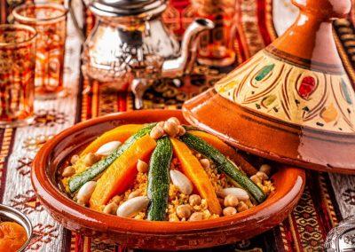 repas sain et detox pour stage de yoga à marrakech - stage de yoga au maroc au pied de l'atlas