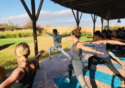 retraite stage yoga jeune - postures de yoga