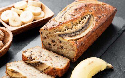 Ma recette «bonne humeuret santé »: le banana bread!