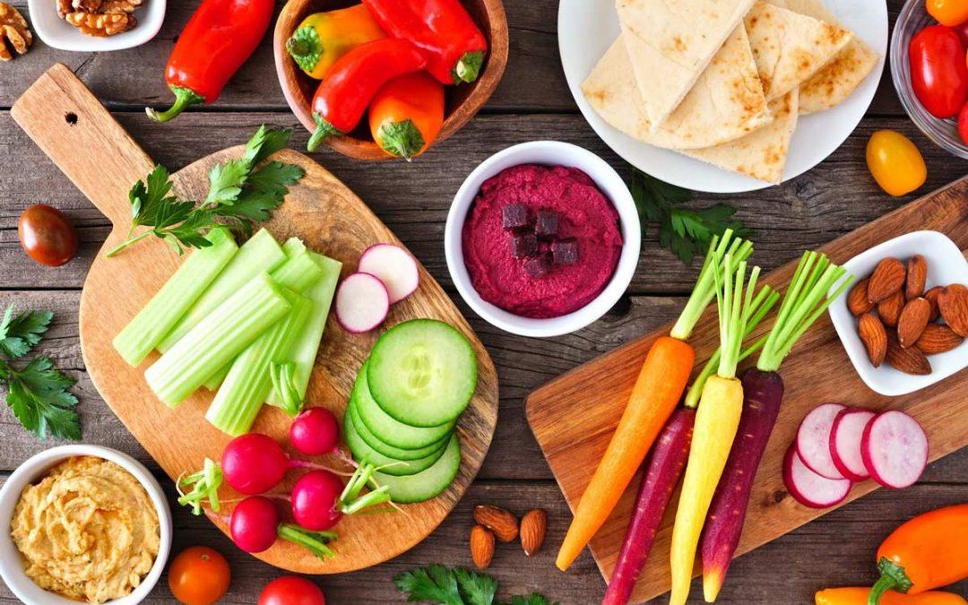 Recettes pour un apéro veggie et gourmand