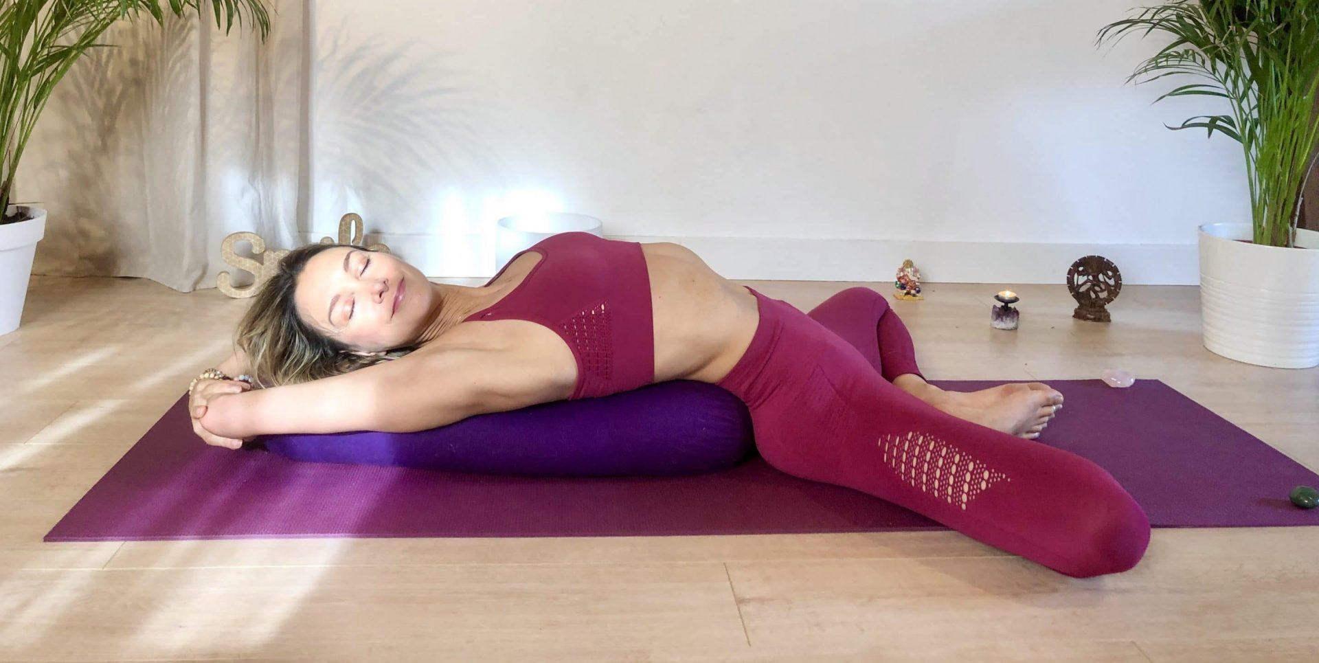 Weekend detox yoga en Normandie - stage yoga baie de somme - stéphanie billard